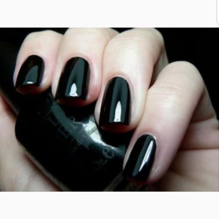 harga Opi lacquer (nail polish) black onyx t02 Tokopedia.com