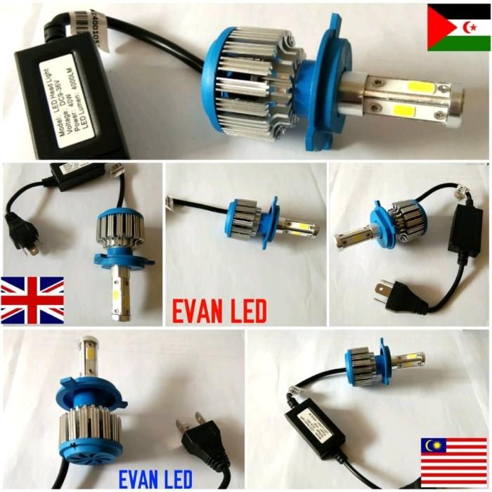 LAMPU LED H4 MOTOR PNP
