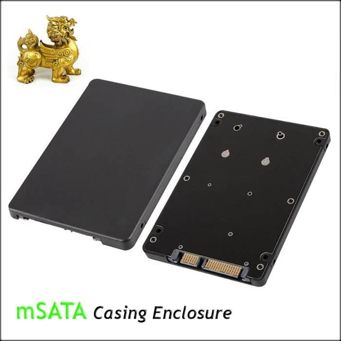 Enclosure casing msata ssd to 2.5 sata adapter