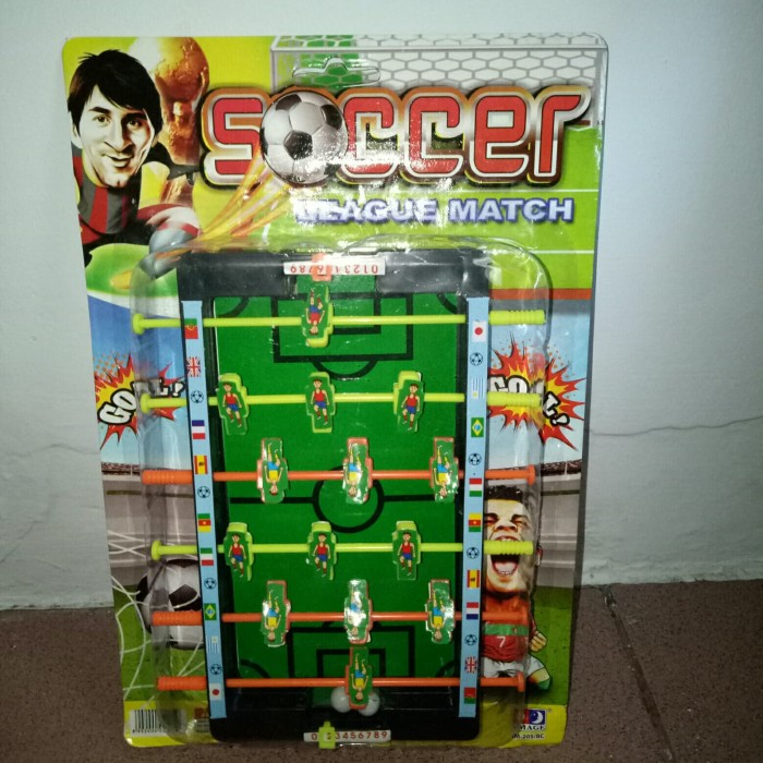 harga Mainan table soccer mini league match im-205 Tokopedia.com