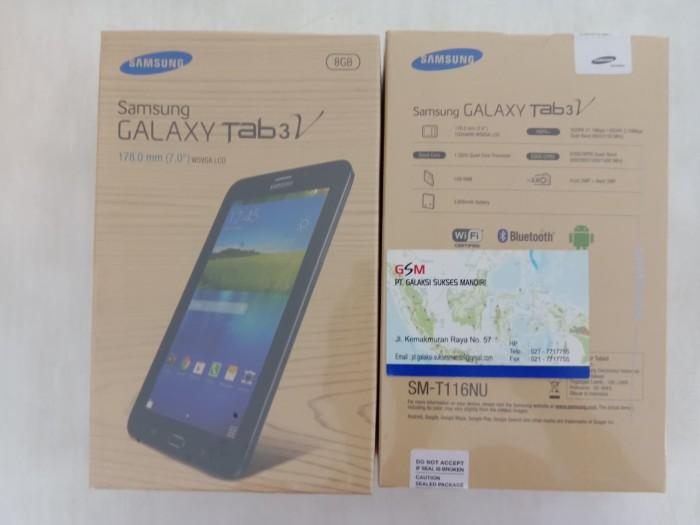 harga Tablet samsung t116 / galaxy tab 3 v - layar 7in (bisa dropship) Tokopedia.com