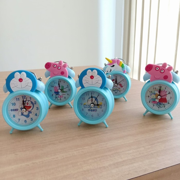 Jual MH Jam Weker Beker Alarm Kring Mini Karakter Disney (4138 ... 3088b00272