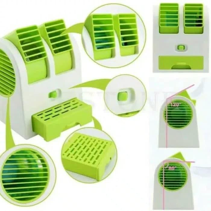 harga Ac duduk mini double mini fan ac portable double cooler kipas ac Tokopedia.com