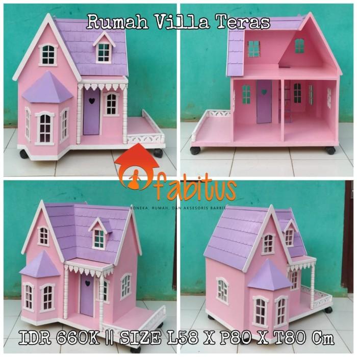 Jual Mainan Rumah Boneka Barbie Villa Teras Fabitus Rumah Barbie 69593829e9