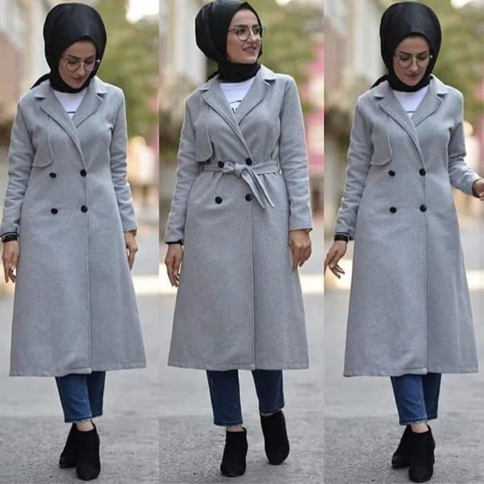 73+ Macam Model Jaket Korea Terbaik