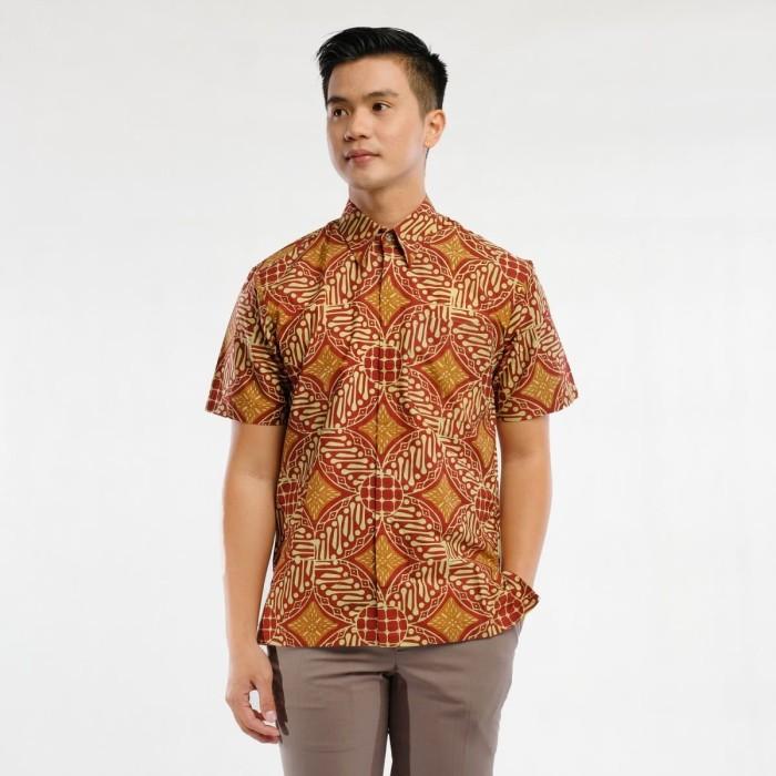 harga Batik pria tampan - kmpd reg ccl col 2 parang ceplok - cokelat m Tokopedia.com