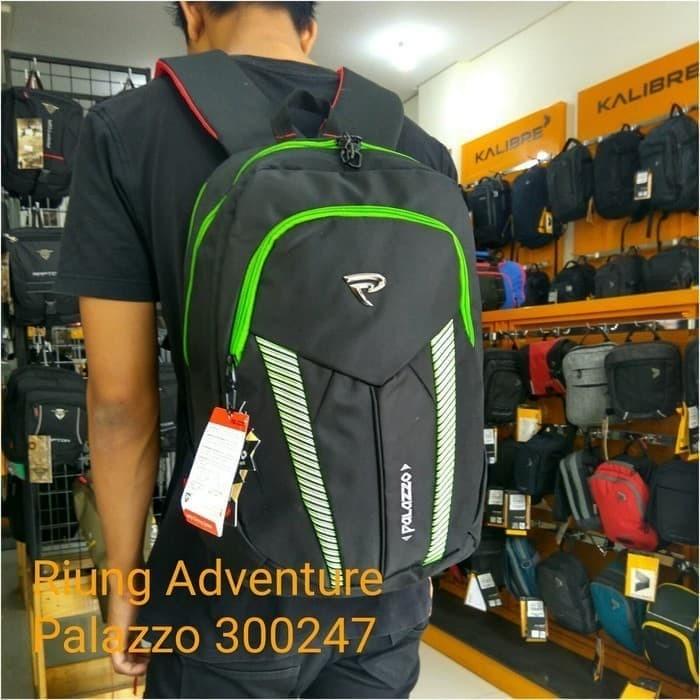Jual Tas Ransel Backpack Laptop 15 + Cover Palazzo - Hijau Tua ... 90eb562794