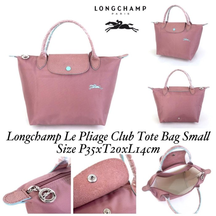 b3a0567aa0 Jual Longchamp Le Pliage Club Tote Bag Small Pink - Jakarta Utara ...