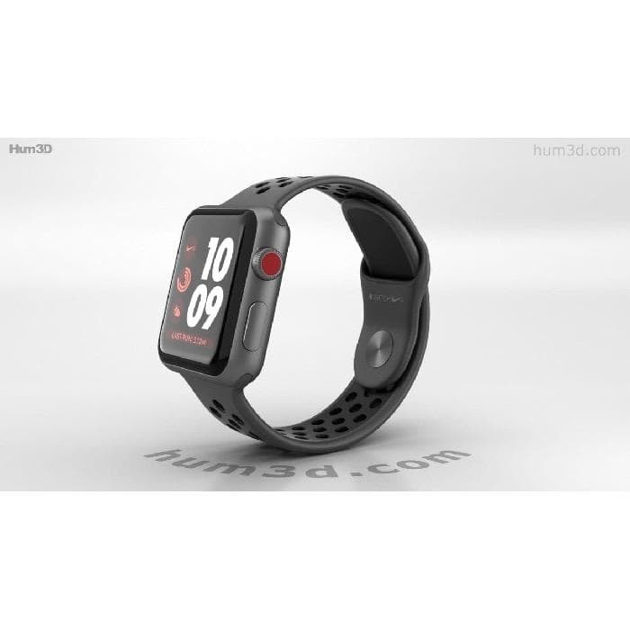 Foto Produk Watch 3 Nike+ 42MM Space Gray Aluminum With Anthracite/Black MQL42ID/A dari Dunia.mac