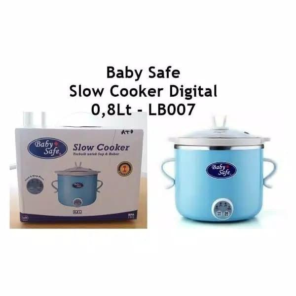 BABY SAFE DIGITAL SLOW COOKER LB007 BABYSAFE SLOW COOKER PEMBUAT MPASI