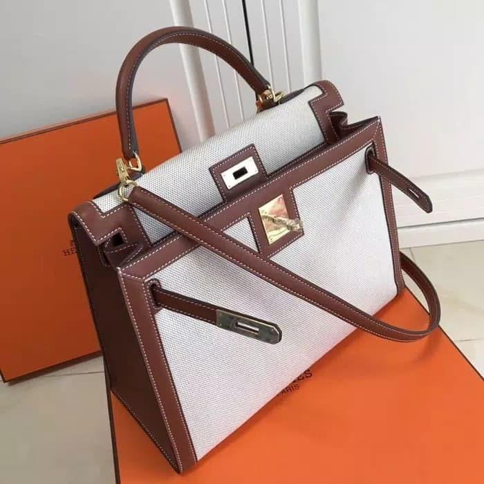 Jual Tas Hermes Kelly Nylon Swift Supermirror Quality - Vip Branded ... b82c69b74f