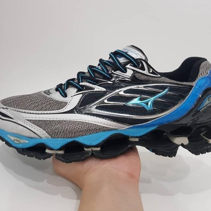 Jual Sepatu Mizuno Wave Prophecy 6 Gray Blue - Friderich Shop ... a1ece1de8b