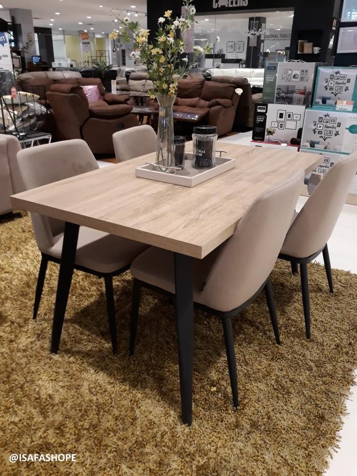 Jual Furniture Interior Meja Makan Set Milgen Brand Informa Kota Depok Isafashope Tokopedia