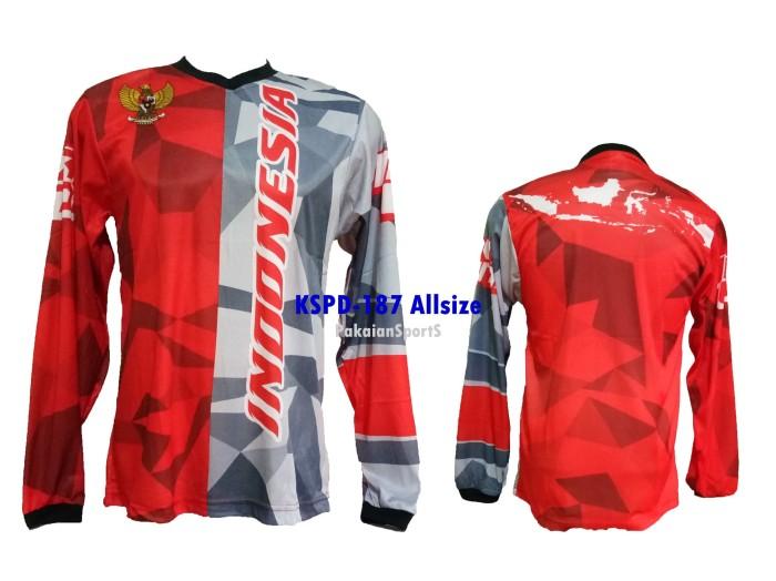 harga Baju jersey lengan panjang sepeda motocross indonesia allsize kspd-187 Tokopedia.com
