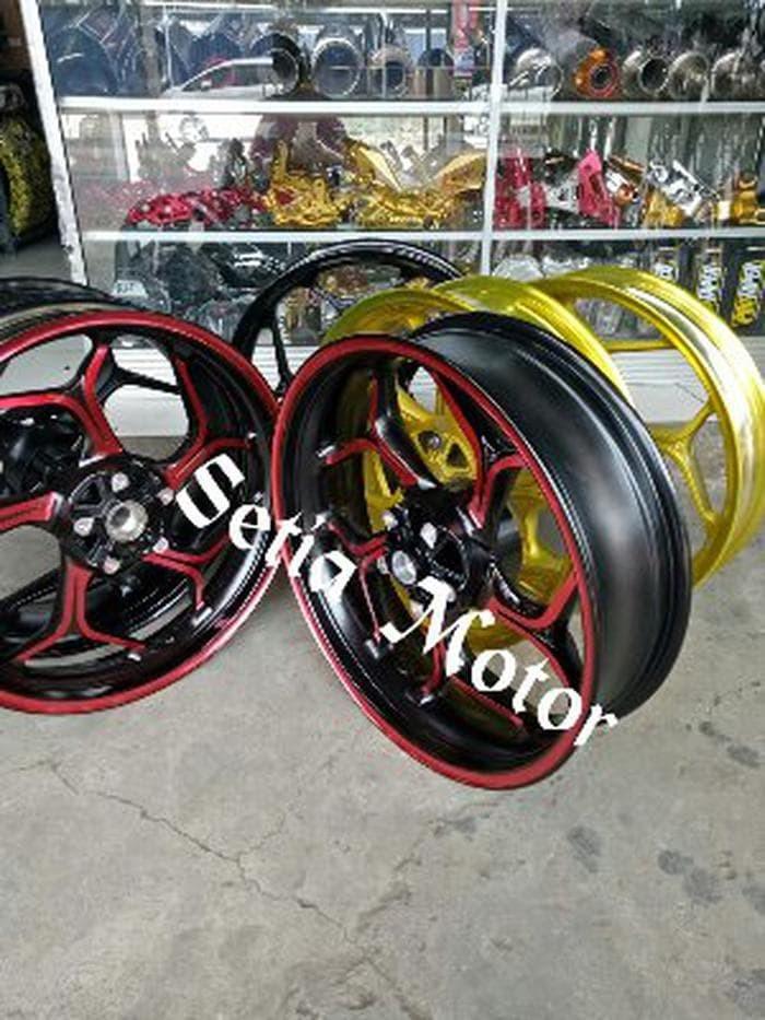Jual Beli Velg Tapak Lebar Model Axio Delkevic Racing Motor Honda