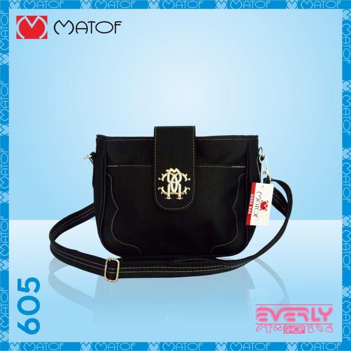 Jual Tas Wanita kode 605 warna hitam - Everly.Shop  267ef3b051