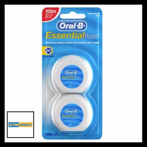 Jual Oral B essential floss 2 pack BENANG PEMBERSIH GIGI SELA CELAH ... f4955fa4ab