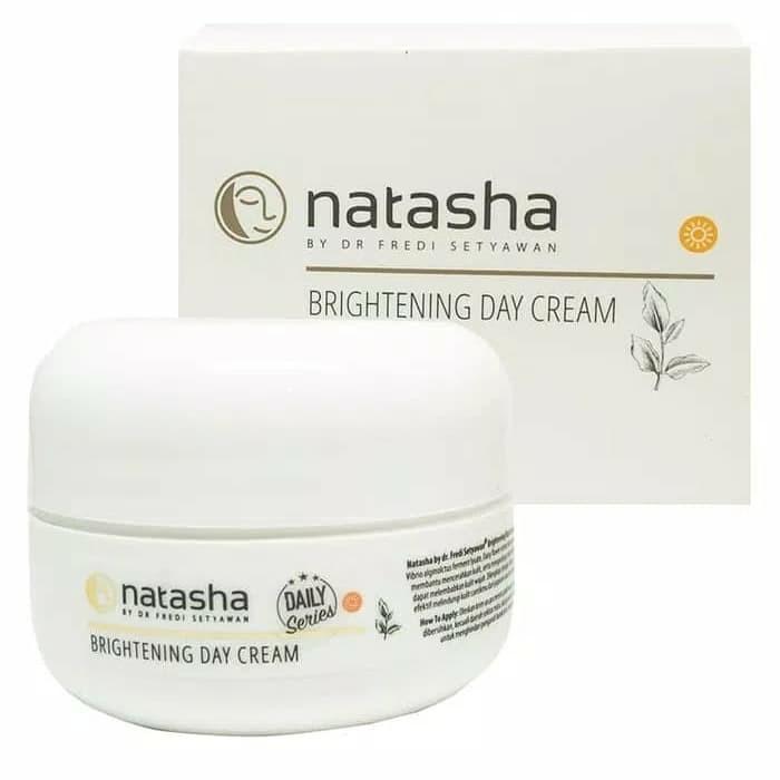 NATASHA BRIGHTENING DAY CREAM 20G BY DR FREDI SETYAWAN