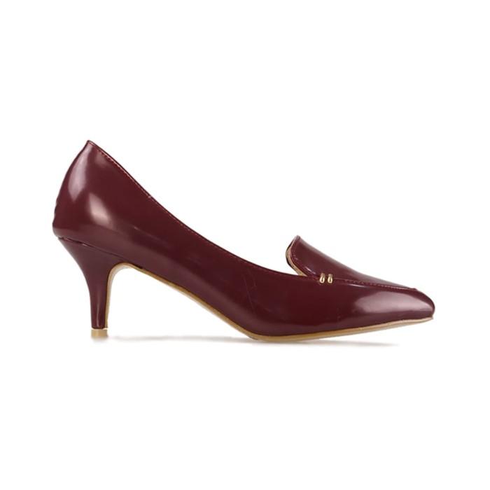harga Bettina heels joanna - maroon -  37 Tokopedia.com