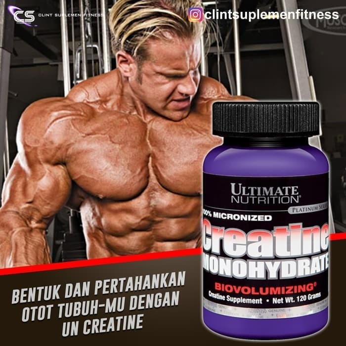 UN Ultimate Nutrition CREATINE MONOHYDRATE 120gr