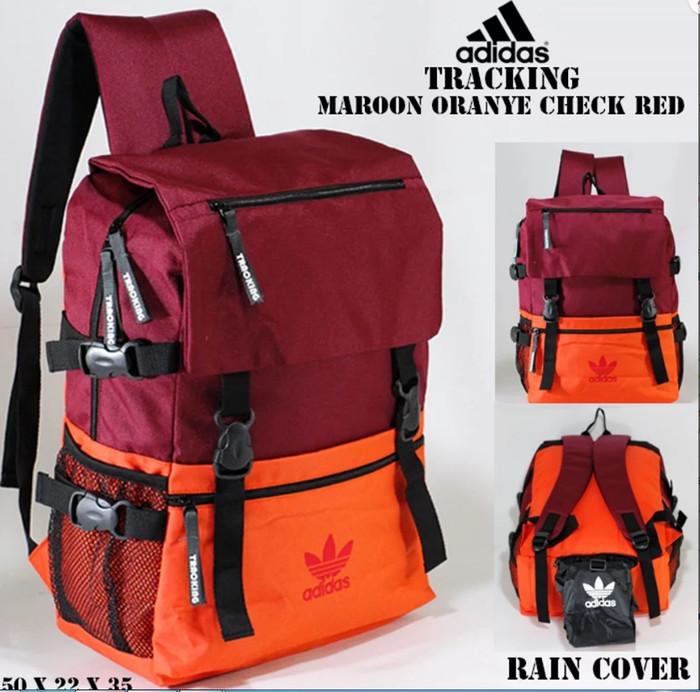 Warna Cat Rumah Oren  jual tas ransel adidas tracking maroon oren merah kab semarang rohman koleksi 11 tokopedia