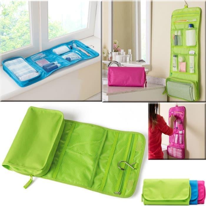 #Tas Kosmetik Tas Kosmetik Peralatan Mandi Toilet bag Organizer