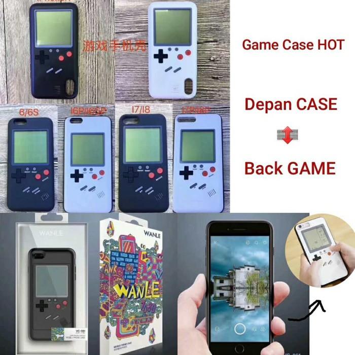 Jual Iphone 7 8 PLUS GAME CASE Tetris Blok Casing Soft Back Cover iOS Hp -  Kab  Banyumas - Wine67 | Tokopedia