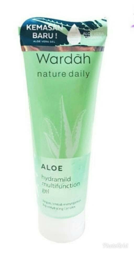 Katalog Hydrating Aloe Vera Gel Wardah Travelbon.com