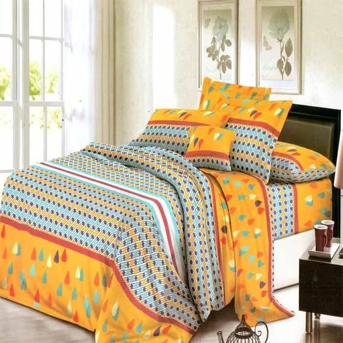 BED COVER SET CHELSEA ROSEWELL 3D 100 X 200 X 20 - YELLOW 0516