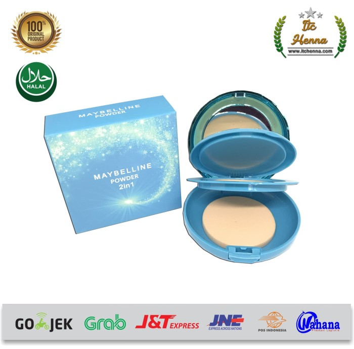 Bedak Foundation Powder 2in1 Maybelline