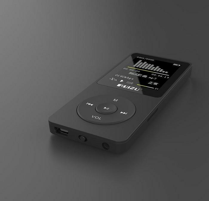 NEW Ruizu X02 MP3 Player DAP Hifi Lossless M4A WAV FLAC MP4 4GB - Empa