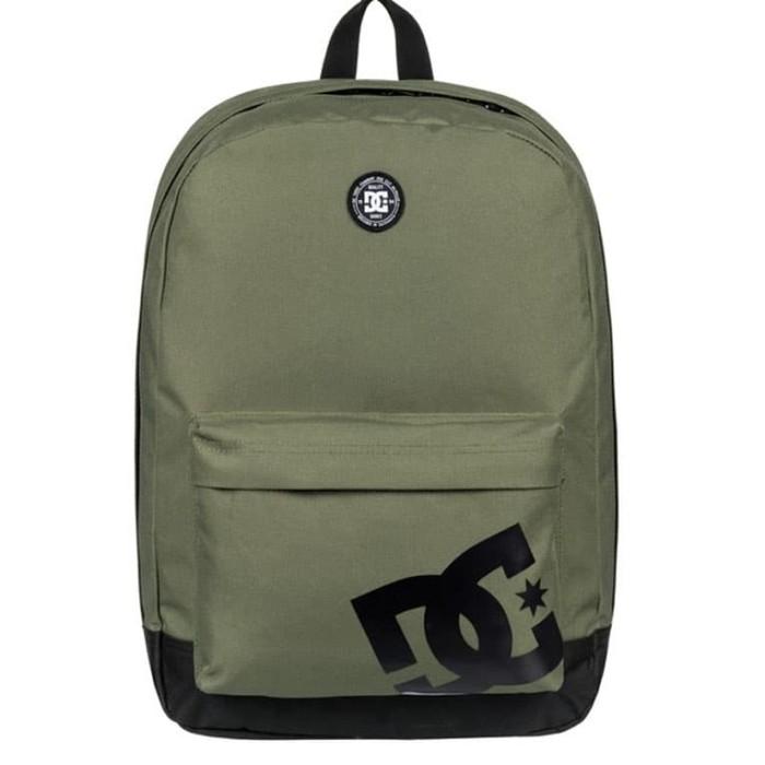Jual Tas Backpack DC Shoes Backstack Sagey Green original - Ajran ... c70f4b304b