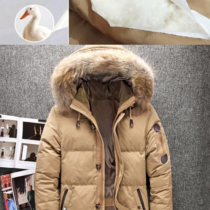 harga Jacket jaket winter pria duck down type q Tokopedia.com