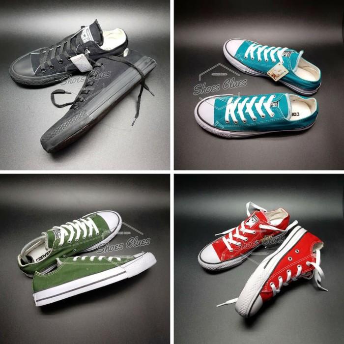 Sepatu Converse All Star Wanita REAL PIC High Quality Harga Grosir - Hitam 8608f3d092