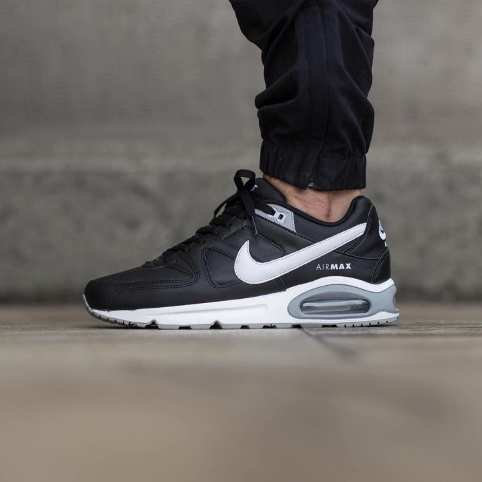 "meilleur service d303a 9dcb8 Jual NIKE AIR MAX COMMANDER LEATHER ""BLACK/WHITE/GREY"" ORIGINAL - Kota  Depok - INESTA SHOES 