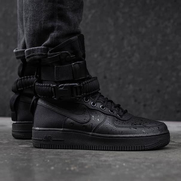 competitive price 8de6b 67b40 Jual Nike SF Air Force 1 High Triple Black - Kota Bandung - Struggle  Sneaker Store | Tokopedia