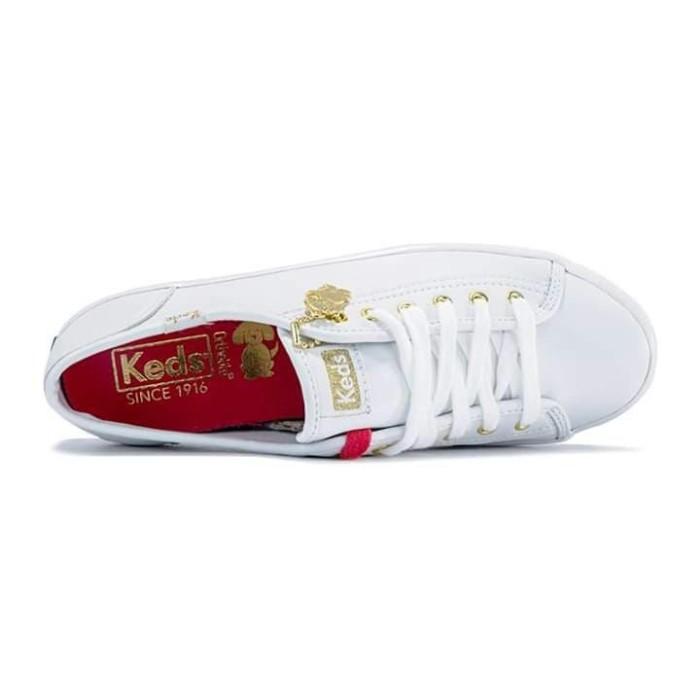 b7a56be0895 Jual Sepatu Keds Kickstart CNY White Leather - DKI Jakarta - MeNdie ...