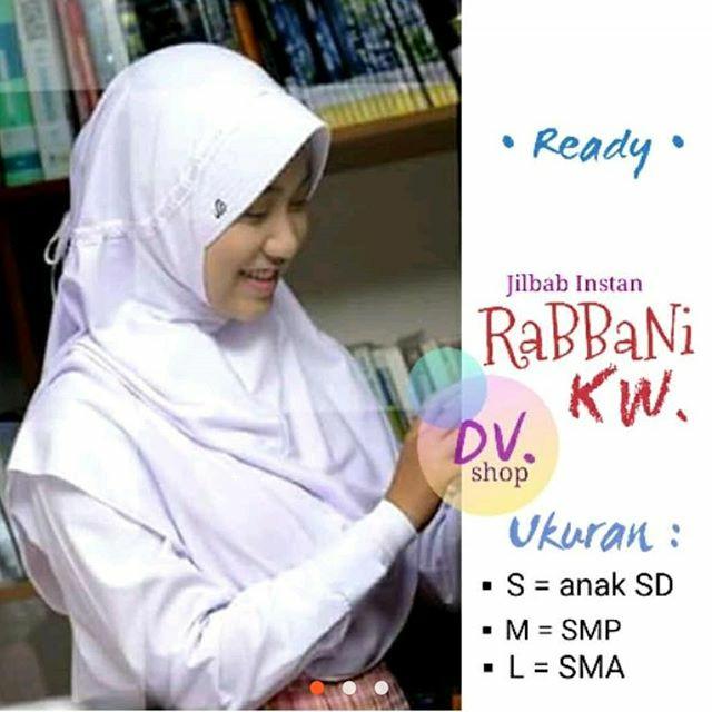 jilbab rabbani anak sekolah smp  model hijab terbaru