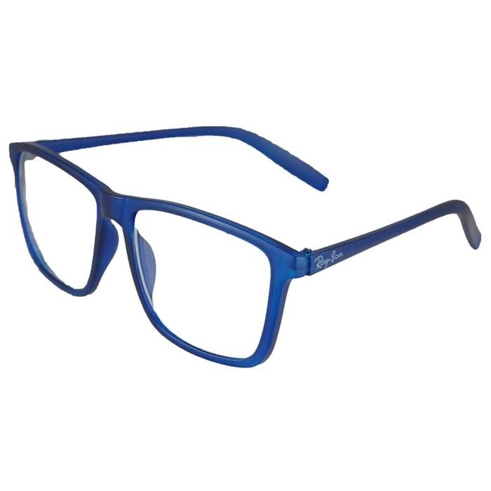 Jual ID Sunglass - Wayfarer D-Frame Pria Wanita - Frame Biru -1004 ... 684ae1f75b
