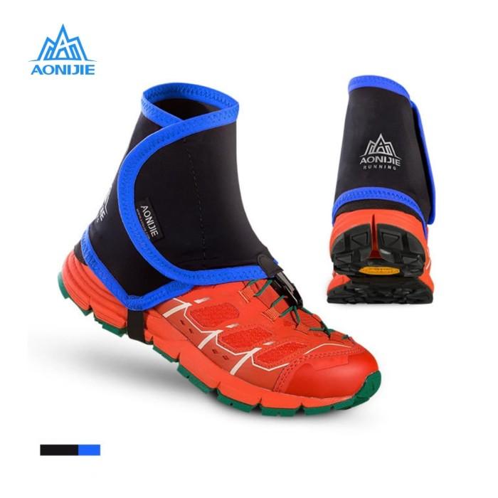 harga Aonijie gaiter e940 - pelindung kaki sepatu - trail running blue Tokopedia.com