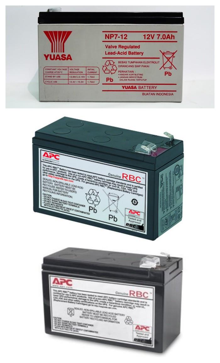 harga Rbc2 rbc110 rbc17 battery competible ups apc. baterai yuasa np7-12 Tokopedia.com