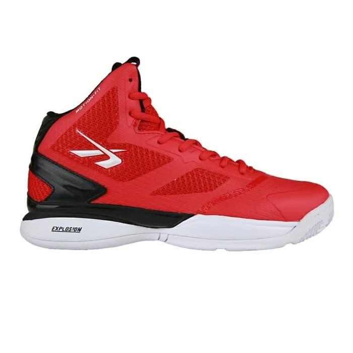 Jual Sepatu Basket SPOTEC Exodus - Hitam - fathanjayashop  a85c95a50e