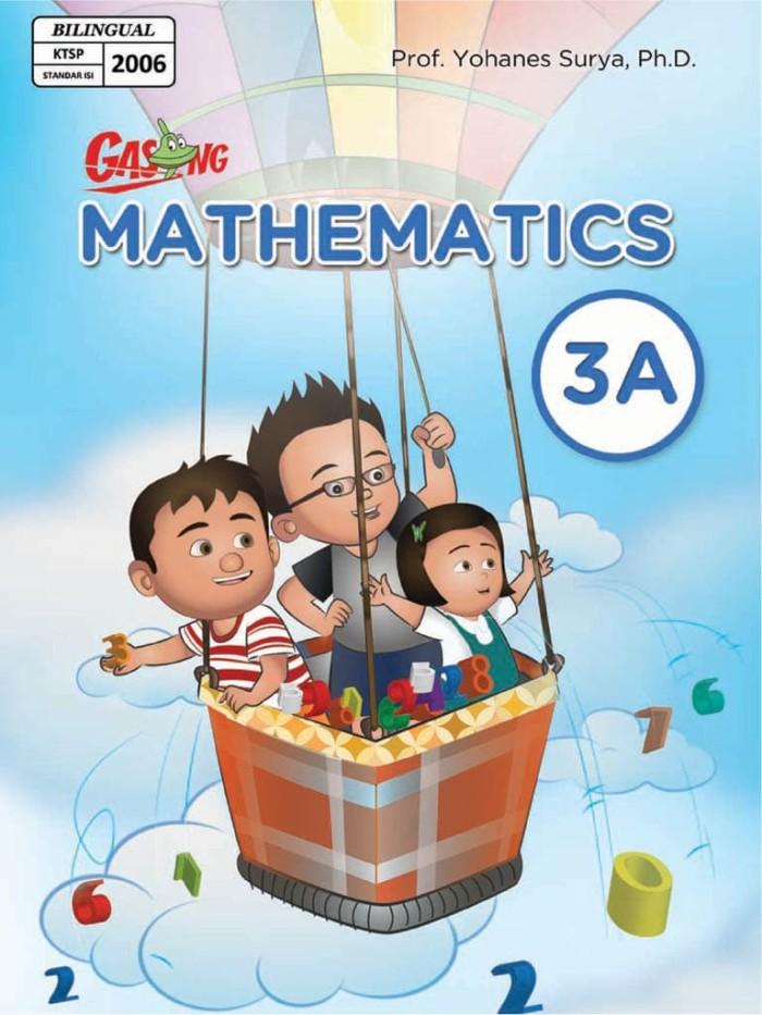 Foto Produk Kupon GASING eBook GASING Mathematics Bilingual SD 3A dari EGASING STORE