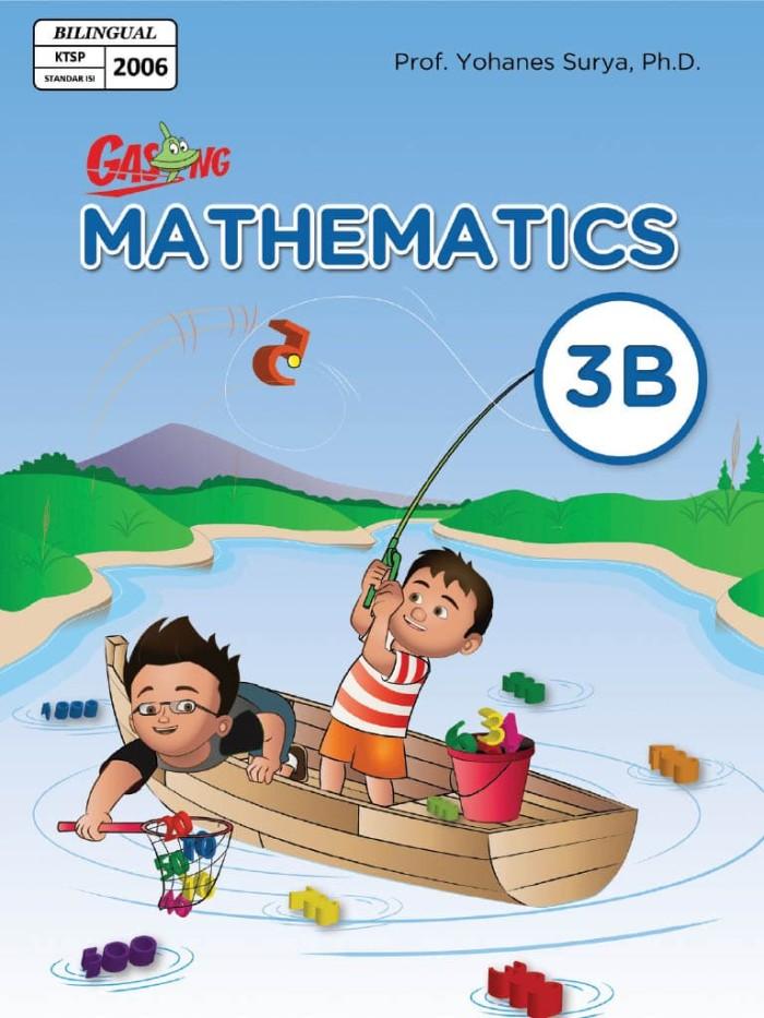 Foto Produk Kupon GASING eBook GASING Mathematics Bilingual SD Kelas 3B dari EGASING STORE
