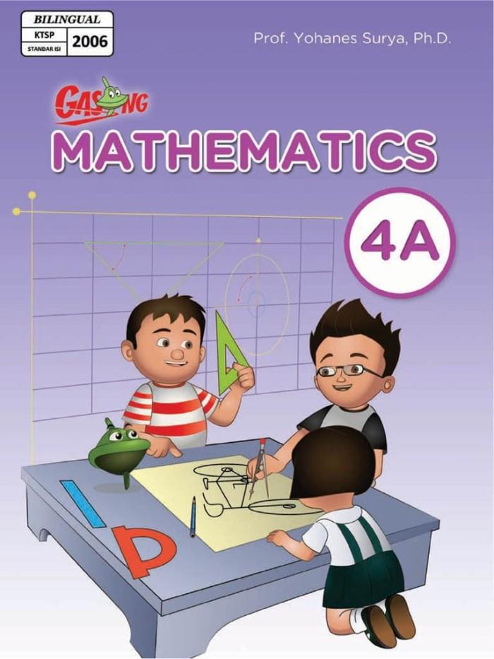 Foto Produk Kupon GASING eBook GASING Mathematics Bilingual SD Kelas 4A dari EGASING STORE