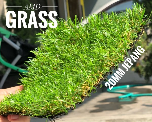 rumput sintetis tinggi 2cm