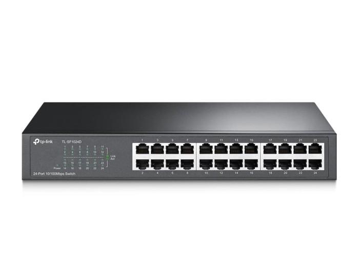 TP LINK TL-SF1024D 24-port 10/100Mbps Desktop/Rackmount Switch