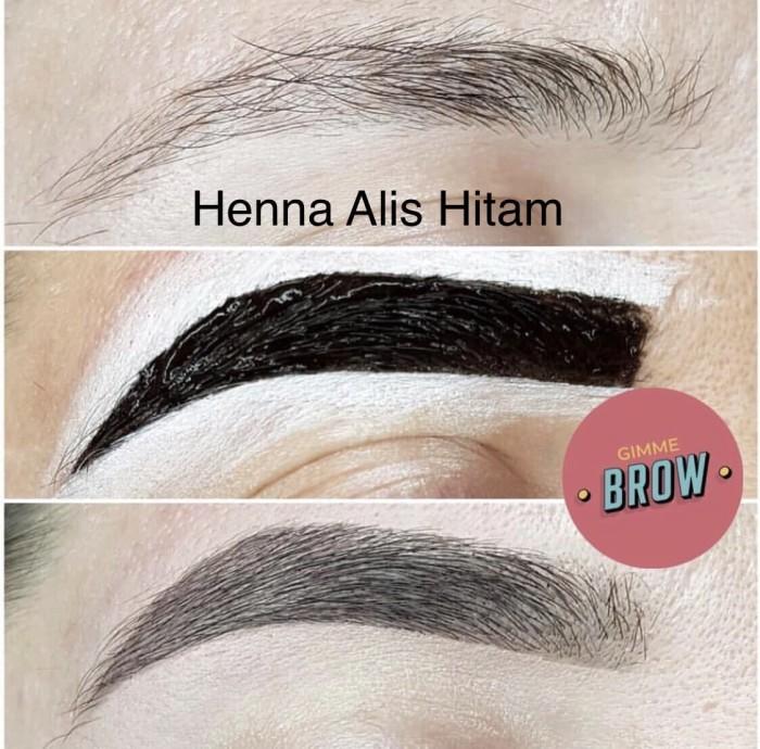 Henna Untuk Alis: Jual Gimme Brow Henna Alis Warna Hitam (Henna Saja