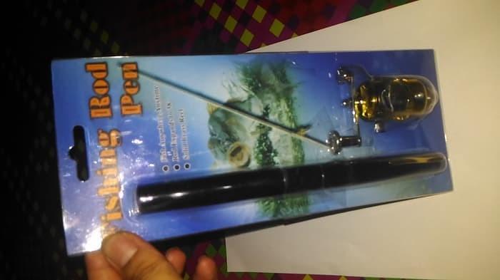 Jual Alat Pancing Pena Pen Fishing Rod Set Tongkat Joran Ikan Portable Ki -  Kota Denpasar - Dennis Diaz Galerry | Tokopedia