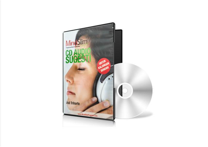 Foto Produk CD Audio Sugesti dari MindSlim Center